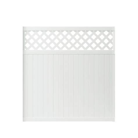 veranda lattice veranda lewiston 6 ft h x 6 ft w white vinyl lattice top