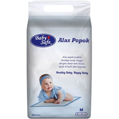 Baby Safe Alas Popok jual alas popok bayi baby safe up10m underpad murah