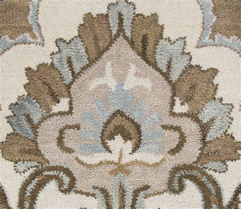 flower area rugs flower pattern wool area rug in mocha ivory brown 6