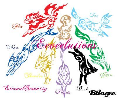 eeveelutions picture #128408839 | blingee.com