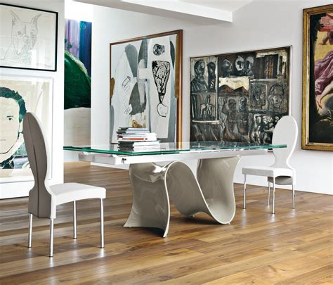 tonin casa wave dining tables from tonin casa architonic