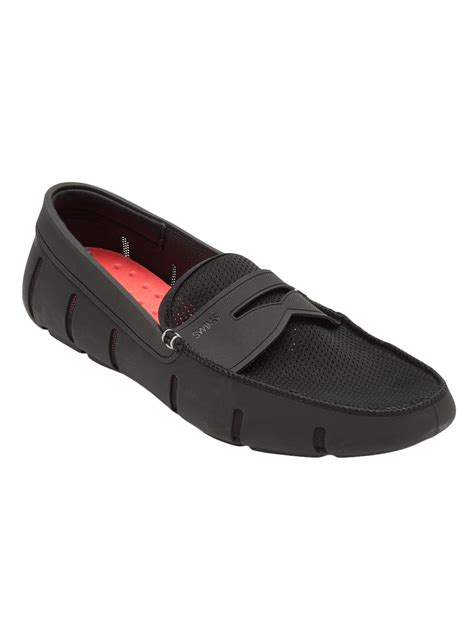 swims loafer swims loafer in black for lyst