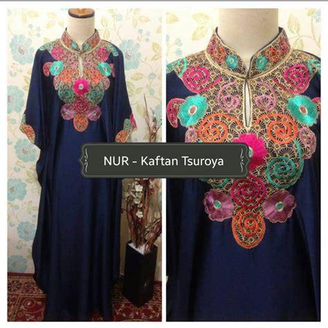 Gamis Kaftan Dress 01 kaftan pesta tsuroya by alvaro outlet nurhasanah