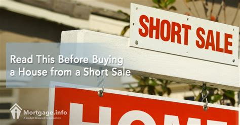 buying short sale house read this before buying a house from a short sale