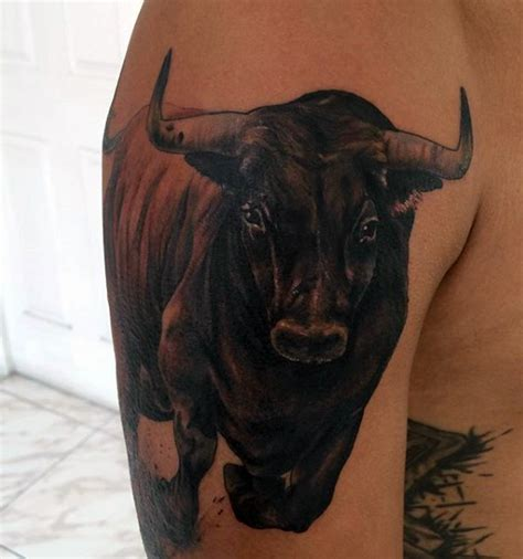 bull tattoo images amp designs