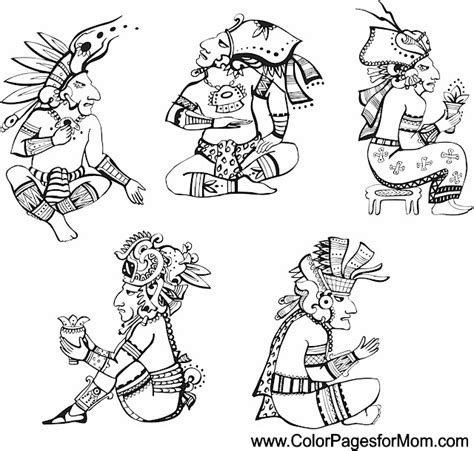 southwestern native american coloring page 41