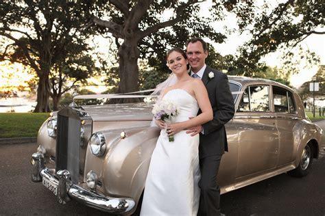 Champagne Rolls Royce Wedding Cars Sydney
