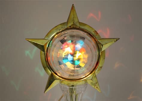 vintage bradford celestial star motion light christmas tree