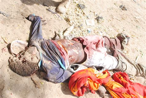 Lc Killing 41 graphic images of terrorists killed by troops in maiduguri konduga the trent
