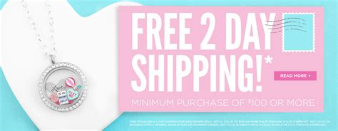 Origami Owl Free Shipping - free 2 day shipping today tomorrow origami owl by