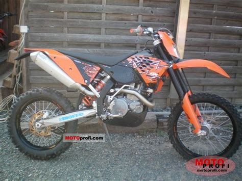 2008 Ktm 450 Exc R Specs Ktm 450 Exc R 2008 Specs And Photos