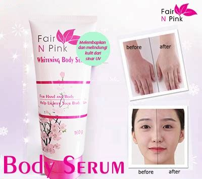 Fair N Pink Serum Review Daily fair n pink serum 160ml cantik dan berseri