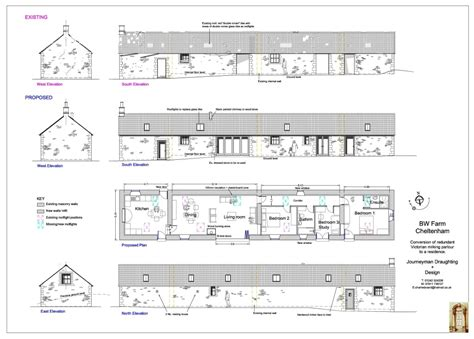 job layout of building planning drawings