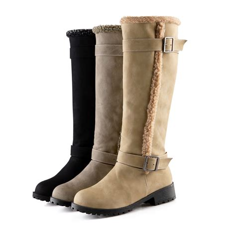 s winter fashion boots s knee high boots winter warm snow boots