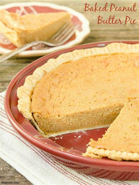 baked peanut butter pie recipe