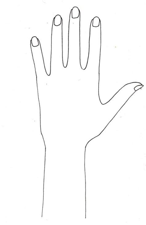 henna design hand template mehndi print out hand shape google search mehendi