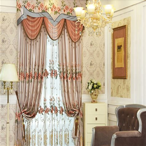 gauze fabric curtains european shading luxurious bedroom gauze curtains buy