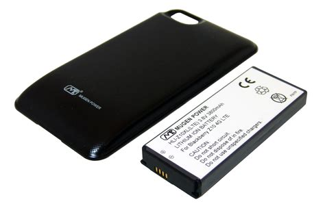 Baterai Power Hp Bb blackberry z10 extended battery on sale mugenbattery