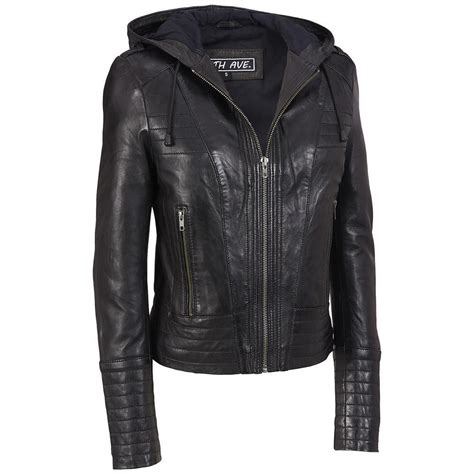 biker jacket vest the best womens motorcycle black leather jackets with