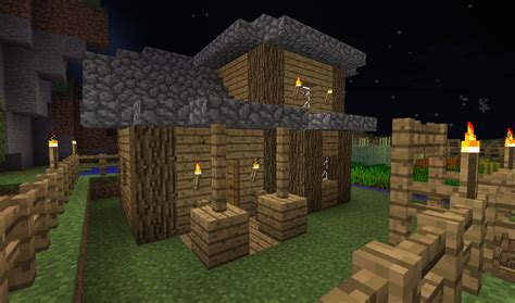 Minecraft Shed by Potting Shed Minecraft Project