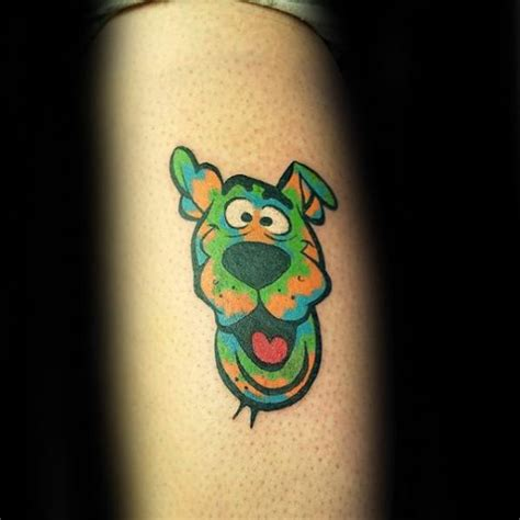60 scooby doo tattoo designs for men cartoon ink ideas