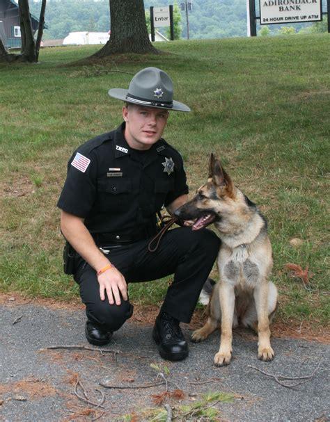 K9 Officer by Patrolman Trevor Tormey Certified As Webb Department S