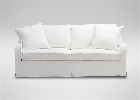 dylan slipcovered sofa sofas loveseats