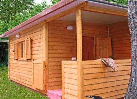 verande in legno per roulotte preingressi roulotte casette in legno mobili