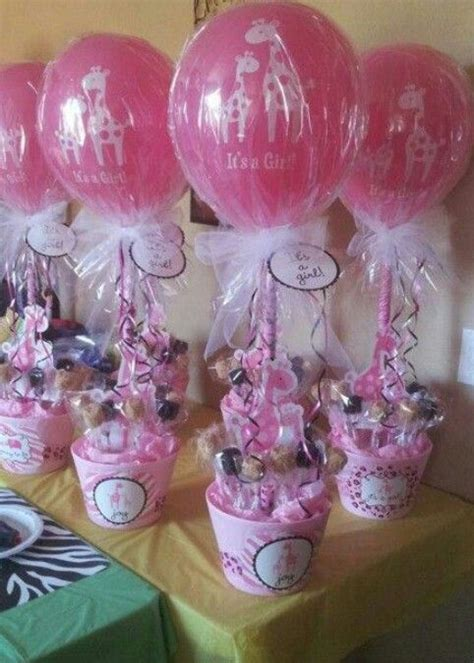 Pink Baby Shower Centerpieces pink girlie baby shower centerpiece or favors cuteness