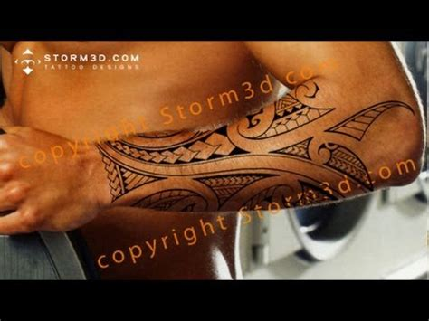 tribal tattoos underarm how to draw a mixed polynesian style forearm design