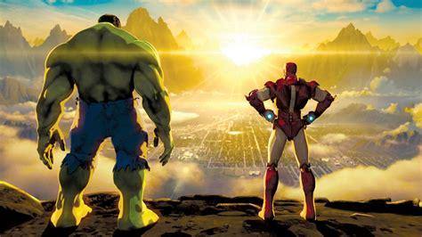 marvels iron man hulk heroes united netflix