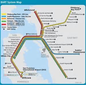 San Francisco Bart Map by Ultra Linear Bart Map Nicholas Richter