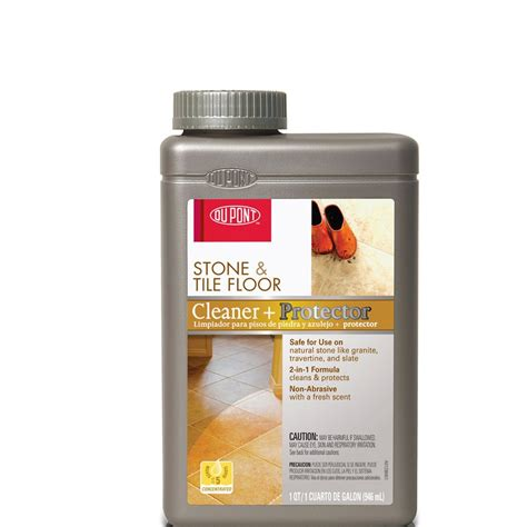 shop dupont stone tile cleaner protector at lowes com