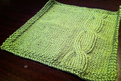 cable knit dishcloth pattern 1000 images about knitted dishcloth patterns on