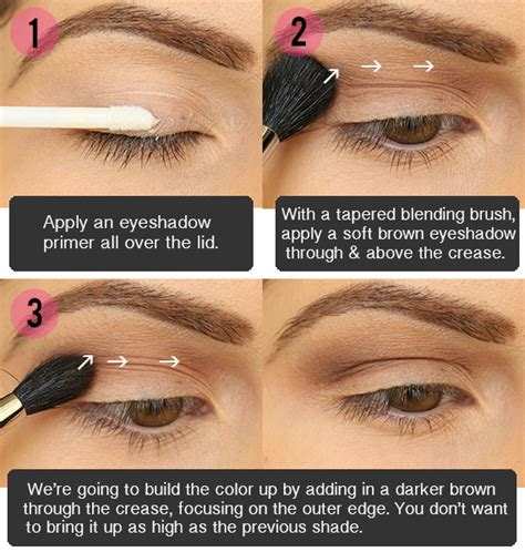 tutorial eyeshadow step by step eye makeup tutorials step by step www proteckmachinery com