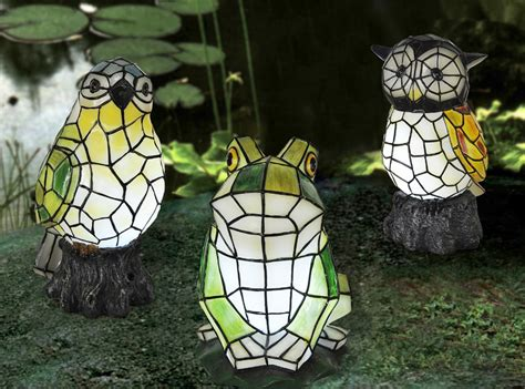 Solar Ornaments Croix Chatelain Animal Solar Lights For Garden