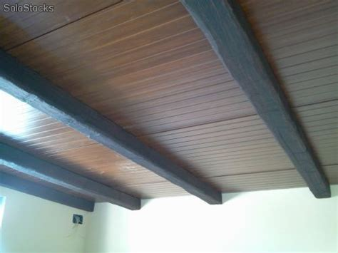 placas de poliuretano para techos paneles imitados a madera para techos baratos