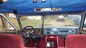1976 chevy hippie with complete custom interior 350