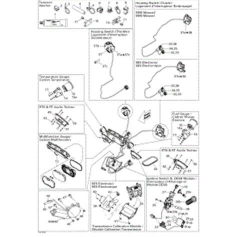 can am parts diagram sea doo bombardier can am v t s motor assembly 278001292