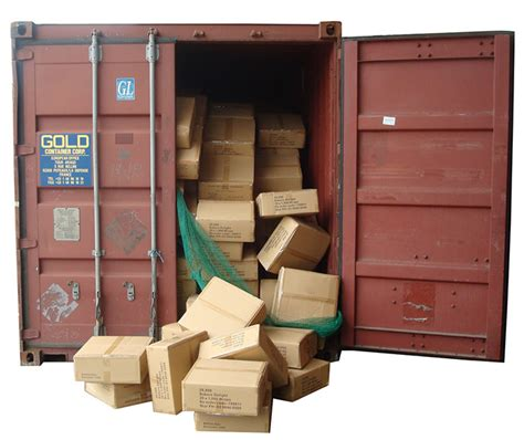 dunnage air bags securing loads during transportation