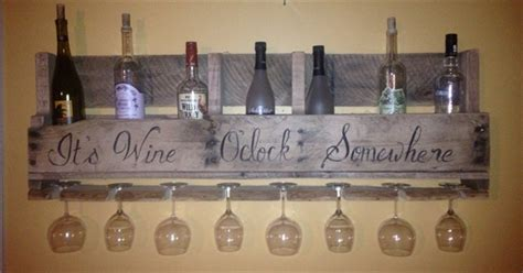 wine racks from recycled pallets pallet furniture plans