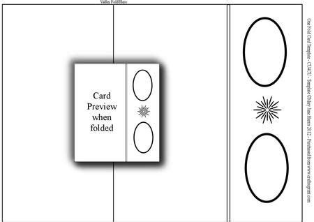 Easy Fold Card Template by 17 Best Images About Card Fold Templates On