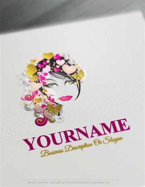 logo maker  makeup artist logo design