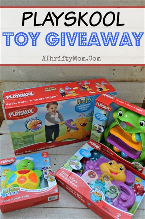 Giveaway Toys - playskool toy giveaway enter to win a thrifty mom recipes crafts diy and more