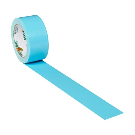 color duct color duct icy blue 1 88 in x 20 yd duck brand