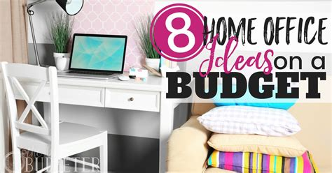 home office design ideas on a budget home office ideas on a budget 8 easy office upgrades