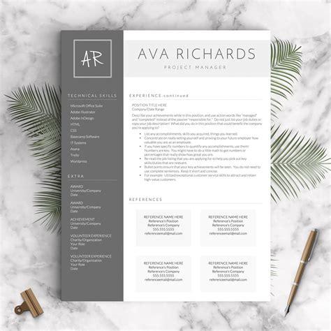 creative blog layout designs creative resume template the ava