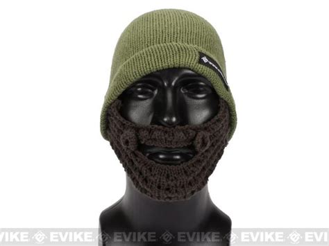 Tactical Beard Brown evike tactical beard beanie color black black evike