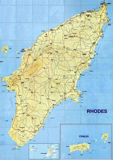 Rhodes Greece Map by Rhodes Map Map Of Rhodes Island Greece