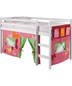 Shorty Mid Sleeper Bed With Tent by 16 Best Images About Room On Loft Beds